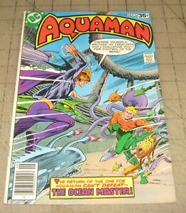 AQUAMAN-63-Sept-1978-FN-Condition-Comic-Ocean-Master-Last-Issue
