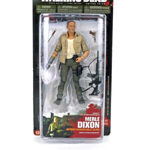 Mcfarlane Toys AMC Walking Dead Series 3 Merle Dixon Action figure - Brand New