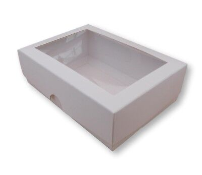 10 X CARDBOARD CARRIER DISPLAY GIFT BOXES FOR 3X CANDLES PRESERVES CAKES ETC