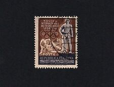 ITALY 1952 Statues of Athelete and River God Tiber (D4)