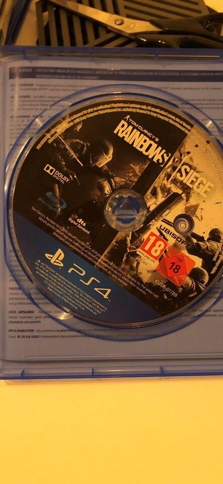 Rainbowsix siege, PS4, action