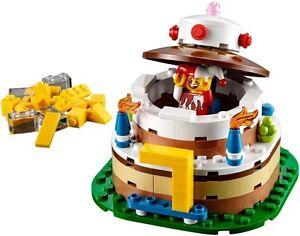 Lego ® Boite Neuve Gâteau d/'Anniversaire Birthday Cake set 40153 NEW