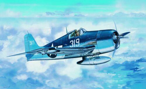 Trumpeter 02258-1:32 F6F-3N Hellcat Neu