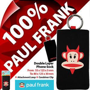 Paul-Frank-Telefono-Calcetin-Funda-Semi-Universal-Bolsa-Movil-Smart-Digital