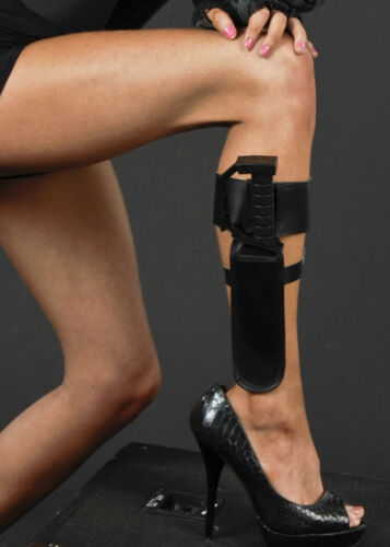 Lara Croft Style Action Ankle Holster