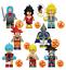 Collection-of-8-Pcs-Minifigures-Anime-Dragon-Ball-Son-Goku-Vegeta-Hit-Lego-MOC miniature 1