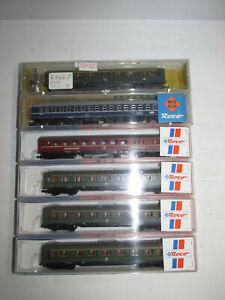 Konvolut-6-Roco-Spur-N-Personenwagen-24236-24238-24265-OVP