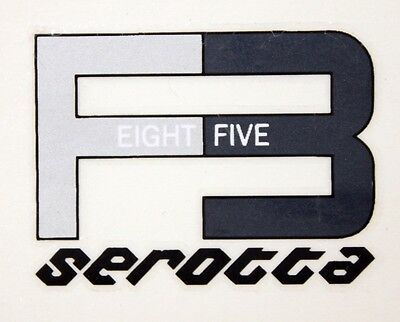 Genuine NOS Serotta F3 Fork Ultra Thin Bike Frame Decals OEM 6.5 / 8.5 / 10.5