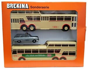 Brekina Set Deutsche Post Serie 2