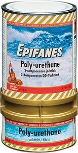 New Two Part Polyurethane Coatingepifanes Pu845.750 Red 750 g