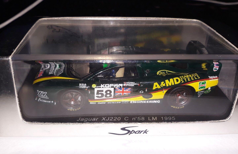 Spark 1 43 Jaguar XJ220 C  58 Le Mans 1995 S0765