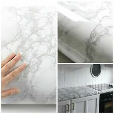 Vinyl Wrap Sticker Decal Sheet Film Marble Effect Self Adhesive Counter Top New