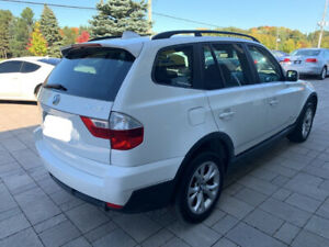 2009 BMW X3 white in mint condition - Original Owner