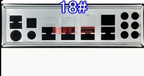 NEW io i//o shield backplate for Gigabyte GA-990XA-UD3 GA-P67A-UD7 #T4676 YS