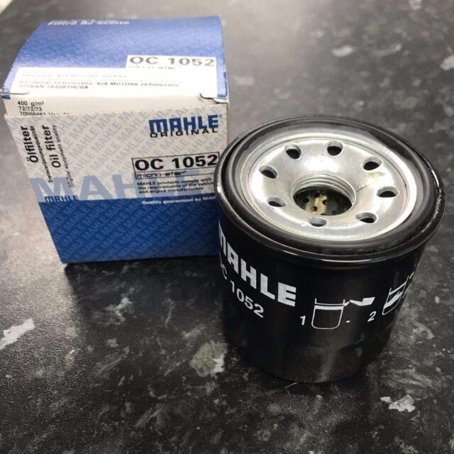 Mahle Knecht Oil Filter OC1052 fit Nissan QG15DE QG16DE QG18DE Almera II 1.5 1.8