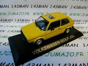 Voiture-1-43-IXO-DEAGOSTINI-Balkans-VOLKSWAGEN-Golf-JGL
