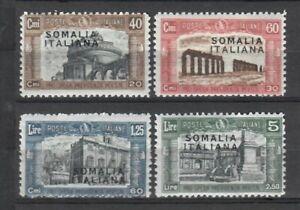 S34480 Somalia 1927 MNH New Militia I 4v Saxon 105/108