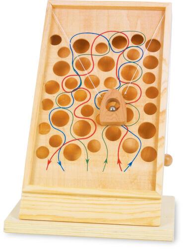 Geschicklichkeitsspiel Kletterpfad ca 24 x 20 x 34 cm ab 3 Jahre aus Holz