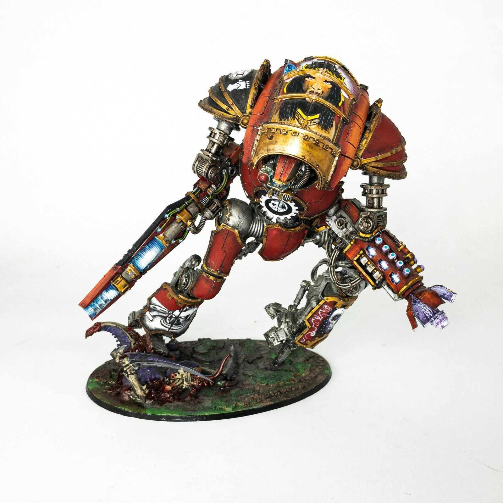 Mechanicum Cerastus Knight-Atrapos Warhammer 30k 40k PRO PAINTED