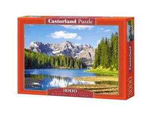 "Castorland Puzzle 3000 Pieces - Misurina Lake, Italy 36""x27"" Sealed box C-300198"
