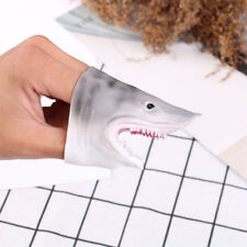 1x TPR suave gris tiburón dedo Títeres niños juguetes mano regalo títere modeloS
