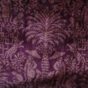 Low Pile Embossed Crocodile Rose Drapery Upholstery Fabric Velvet