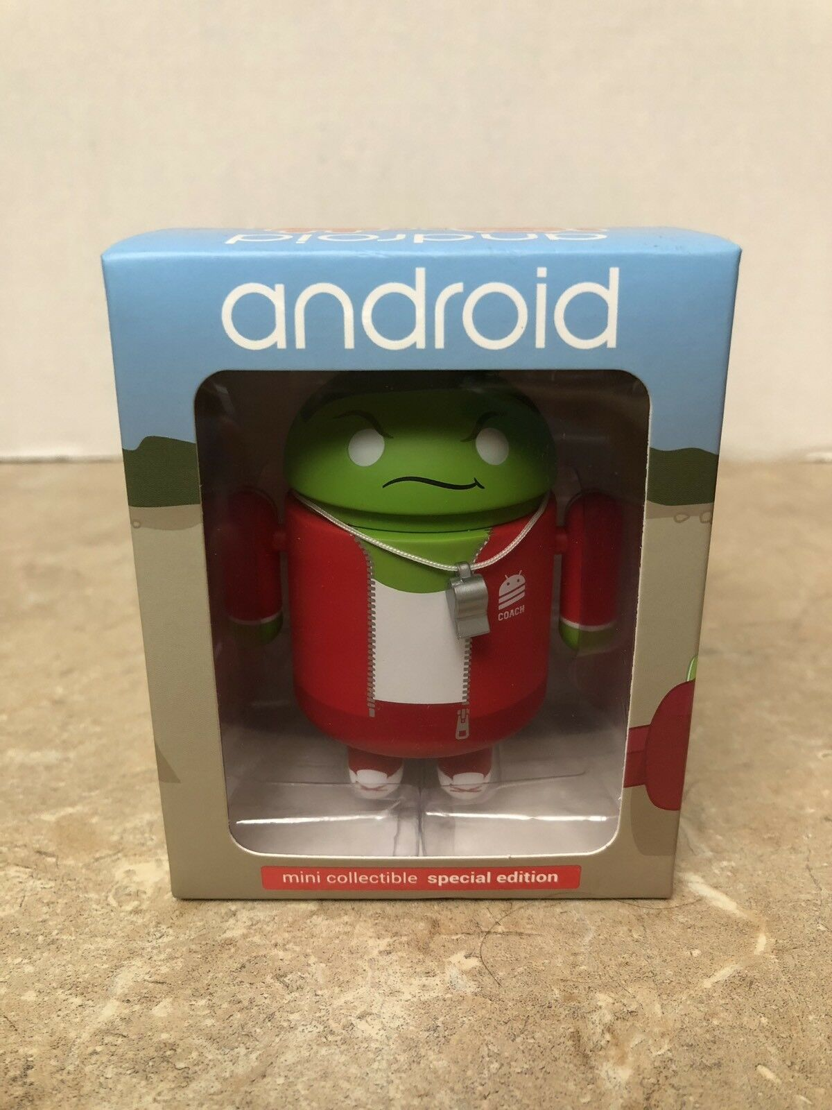 Android Mini Collectible figure 2015 Stiefel Camp RARE  - Google & Andrew Bell