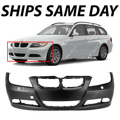 Rear Bumper Cover for 2006-2008 BMW 325 328 330 323 Sedan 3 Series NEW Primered