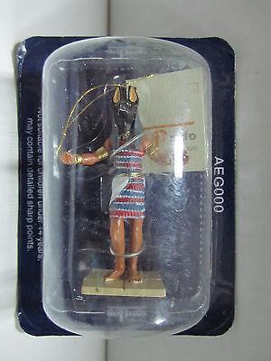 Aeg000 - Figura Egipcia De Plomo - Del Prado Originale Al 100%