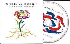 CD CARTONNE CARDSLEEVE COLLECTOR 15T CHRIS DE BURGH A BETTER WORLD 2016