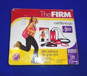 The-Firm-Cardio-To-Go-Set-Weighted-Jump-Rope-2-Medium-Level-Resistance-Bands-Bag
