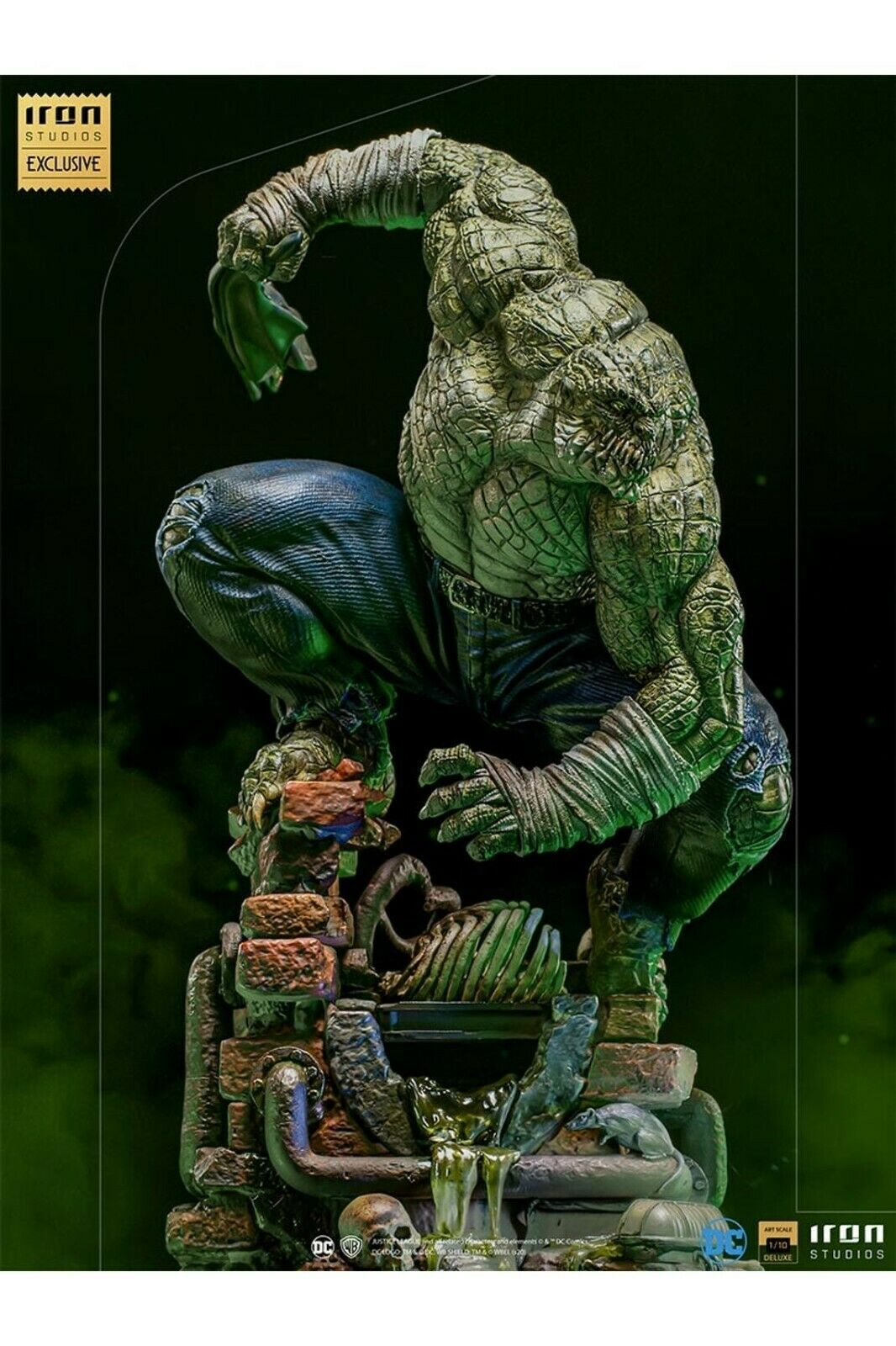 Iron Studios DC Killer Croc Deluxe Art Scale 1/10 Statue Exclusive Edtion CCXP on eBay thumbnail