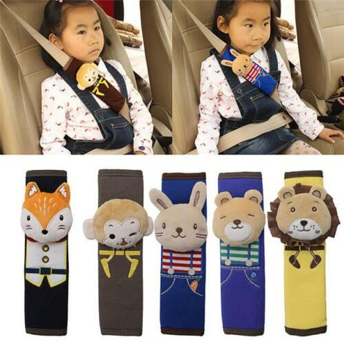 1PC Animals Cartoon Baby Infant Auto Car Seat Belt Cover Shoulder Pads Supply OO