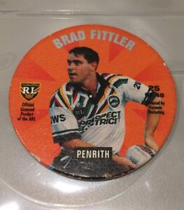 Brad-Fittler-Penrith-panthers-Coca-Cola-Pog-Cap-Tazo-1995-Number-25-NRL-ARL