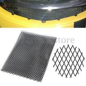Aluminium racing grille mesh vent car tuning grill black silver size 100cm x 33 ebay - Grille ventilation aluminium ...