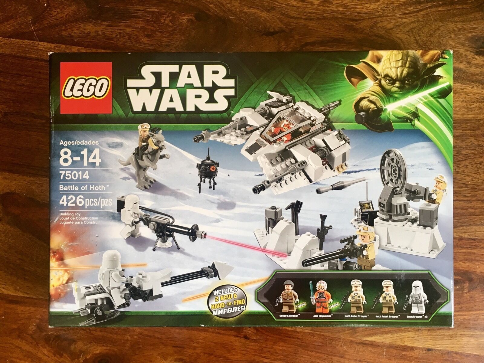 NOUVEAU  RARE  Lego Star Wars 75014 Battle of Hoth