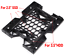 2PCS-2-5-3-5-to-5-25-Drive-Bay-Case-Adapter-SSD-HDD-Fan-Mounting-Bracket-For-PC thumbnail 3