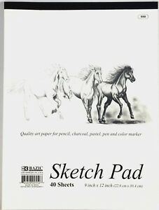 9-x-12-inches-40-Sheets-premium-Quality-Sketch-Book-Drawing-Paper-Pad-Inch