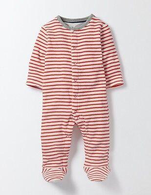 Boden unisexe bébé Super Doux rayée éponge Sleepsuit Babygrow ange 6-9 m