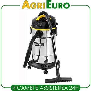 Aspirapolvere-aspiraliquidi-elettrico-Lavor-Trenta-XE-bidone-30-lt-acciaio-inox