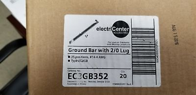SIEMENS EC3GB352 Ground Bar Kit with 35 Terminal Positions and a Ground Lug