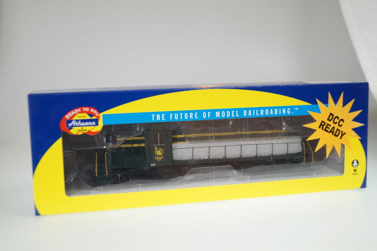 H0  Athearn 96779 US-Diesellok Central Railroad of Jersey   1547, neuw. ovp