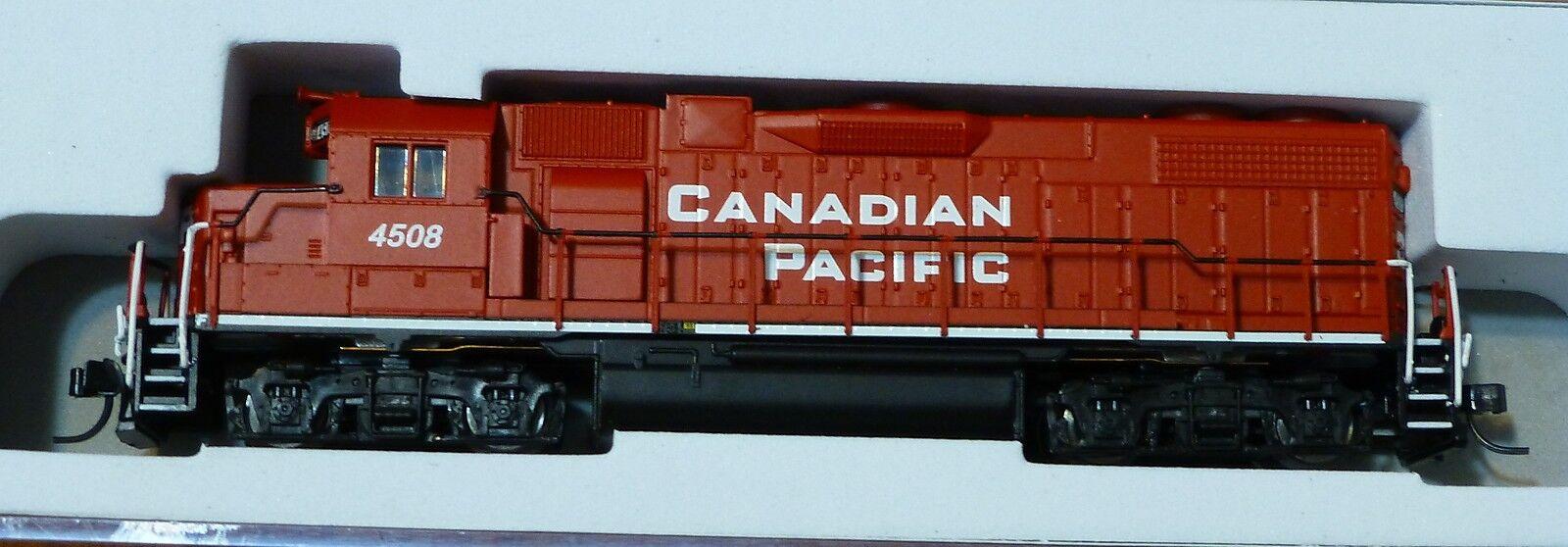 Atlas N   40000731 Emd Gp38-2 w dynamic Frenos-Estándar Dc-Canadian Pacific