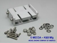 Prather style Adjustable K&B 3.5 Outboard Motor Engine Mount MECOA