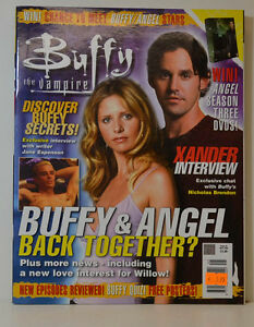 Buffy Vampire Slayer Magazine Magazine Avril 2004 - Back Together ( Zb 47 ) éLéGant Et Gracieux