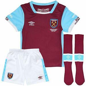 Umbro West Ham United Junior Kid/'s Home Shorts /& Socks 2018//19 11-12 Years