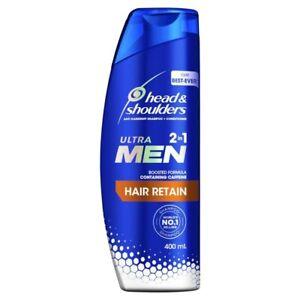 Head & Shoulders Ultra Men 2 In 1 Hair Retain Shampoo 400mL