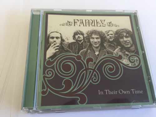1 of 1 - Family ~ In Their Own Time 2 CD SET ( BEST OF, PROG ROCK,70's ) MINT