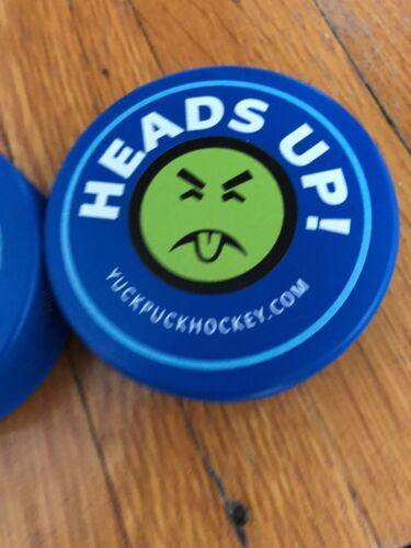 Yuck Puck Hockey Pucks Mite Stickhandling Training Pucks Qty 2 ICEE /& Mr YUCK!