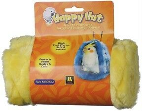 DICKY-BIRD-TOYS-SMALL-YELLOW-HAPPY-HUT-BIRDY-BED-FREE-POSTAGE-ORDERS-50